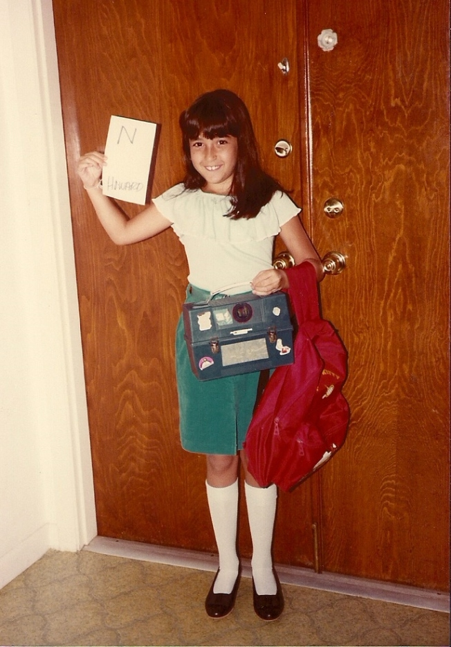 My first day of 3rd grade.